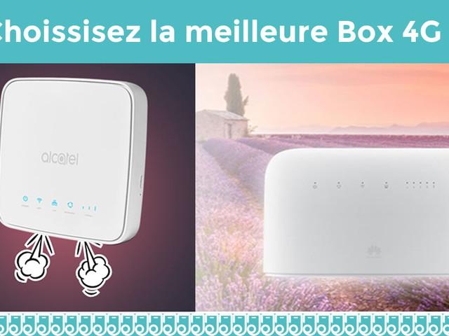 Choisissez la meilleure Box 4G à moins de 30€ !