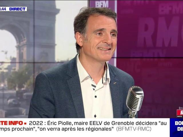 """Eric Piolle (maire EELV de Grenoble): """"On était des utopiques quand on avait pas le pouvoir, maintenant on est des ayatollahs"""""""