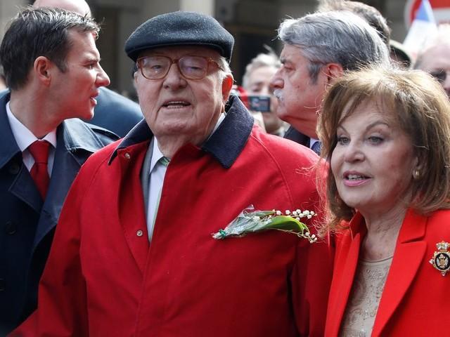 Jean-Marie et Jany Le Pen se sont mariés religieusement en secret