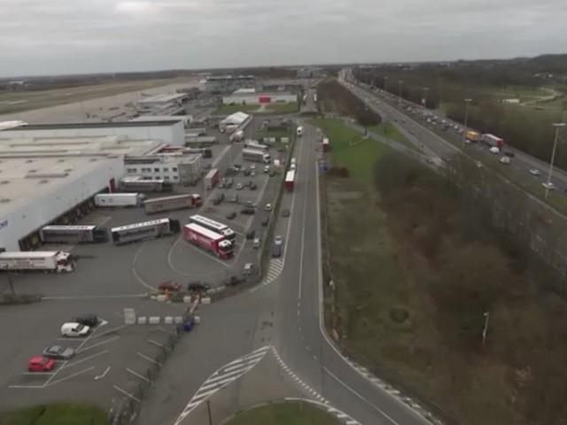 Liege Airport: une éclaircie derrière l'orage Fedex
