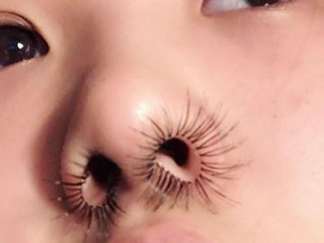 Les extensions de poils de nez, à l'avant-garde de l'élégance