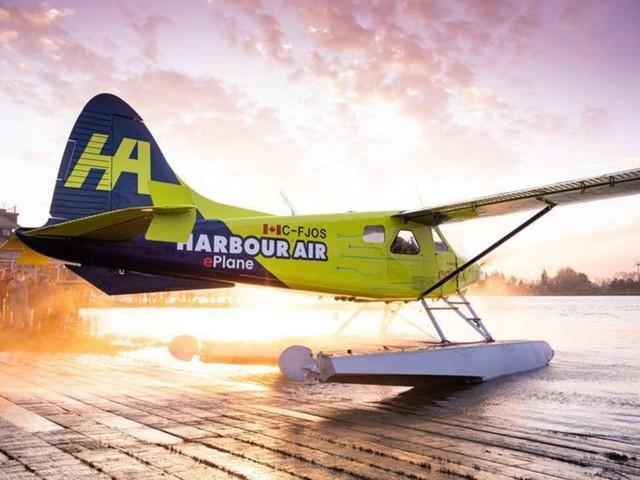Premier vol réussi d'un avion électrique commercial