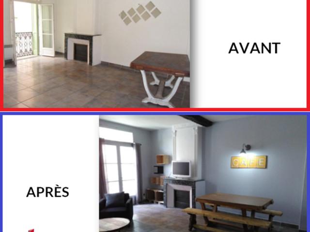 La colocation de Yann à Perpignan : un loyer de 1200 € tous les mois.