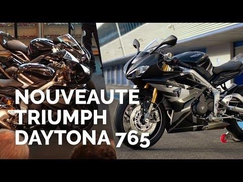 Nouveauté moto : Triumph Daytona 765