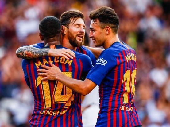 Foot - Amical - Vidéo - Vidéo :les buts de Malcom, Messi et Rafinha pour le Barça contre Boca lors du Trophée Gamper