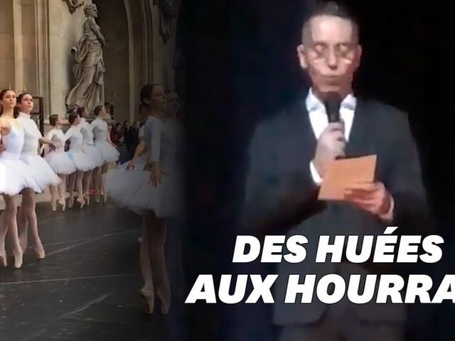 L'Opéra de Paris rouvre sous les applaudissements du public