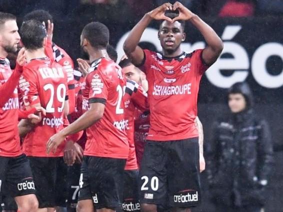 L1 : Guingamp se relance en stoppant Rennes