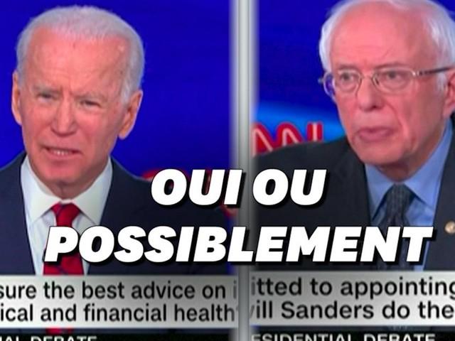 Joe Biden s'engage, Bernie Sanders hésite à choisir une femme pour la vice-présidence
