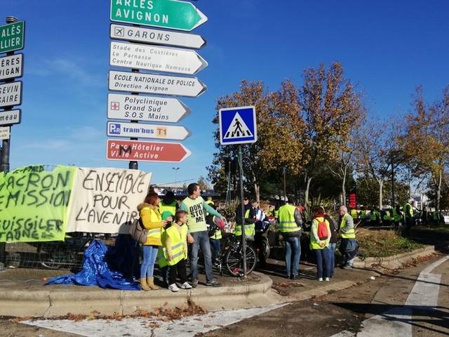 Gilets jaunes : la préfecture du Gard interdit une nouvelle fois toute manifestation au Km Delta à Nîmes