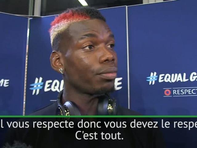 Foot - Bleus - Paul Pogba : «Un joueur qui ferait son coming-out doit être respecté»
