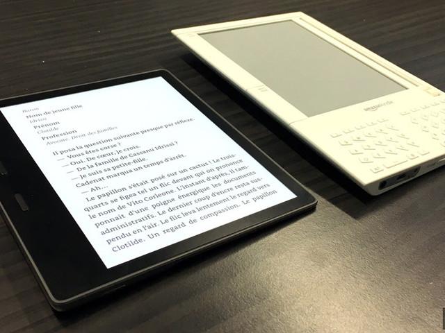 """Amazon lance sa nouvelle Kindle Oasis, au format 7"""" et étanche"""