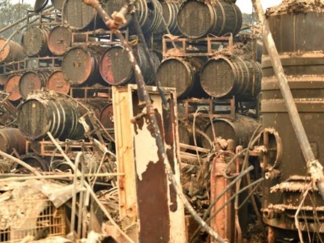 Incendies en Californie: les vignobles de Napa et Sonoma durement touchés