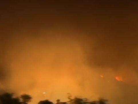 """VIDEO. En Grèce, """"catastrophe écologique"""" en cours sur l'île d'Eubée, ravagée par les flammes"""