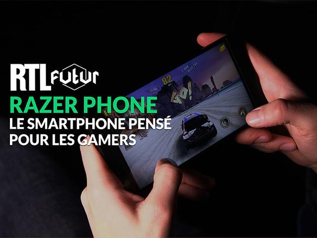 VIDÉO - Razer Phone, le smartphone pensé pour les gamers