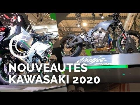 Nouveautés motos Kawasaki 2020