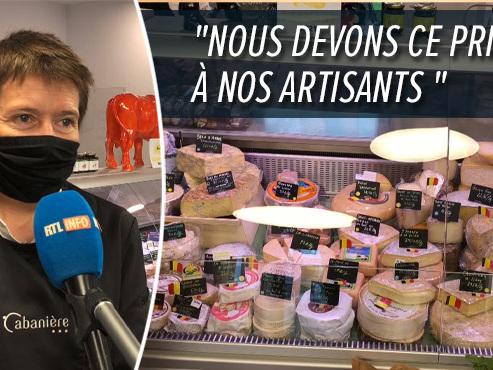 """La meilleure fromagerie de Belgique se trouve à Sombreffe: """"On propose de la vraie mozzarella au lait de bufflone belge"""" (vidéo)"""
