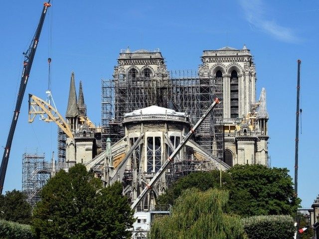 Incendie de Notre-Dame : travaux, dons, pollution... quel bilan trois mois après ?