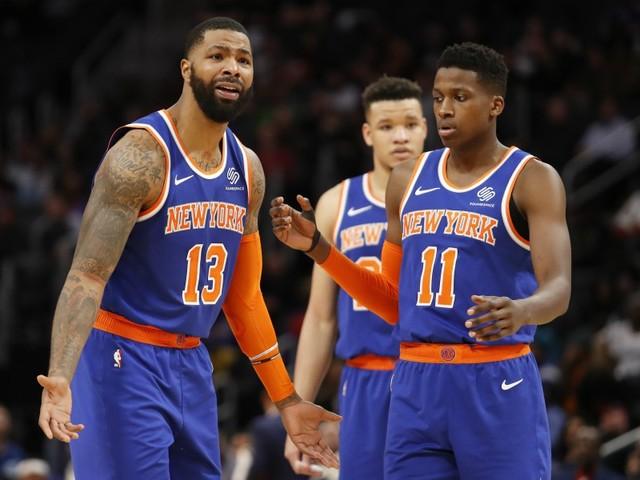 Ntilikina et les Knicks (encore) dans le dur