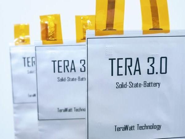 TerraWatt : une batterie solide avec une densité de 432 Wh/kg pour 2022