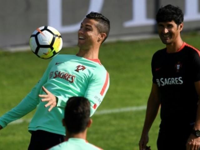 """Mondial-2018: en """"finale"""" contre la Suisse, Cristiano Ronaldo dans son élément"""