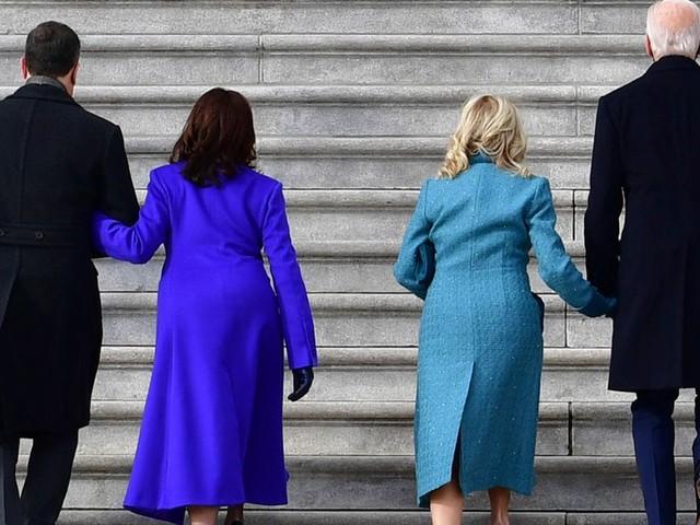 Le choix des tenues de Kamala Harris et des Biden n'avait rien d'anodin