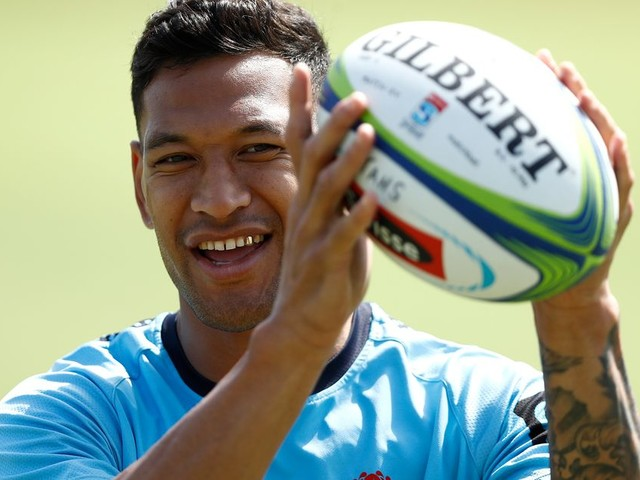 Israel Folau rejoint le club de rugby des Dragons Catalans