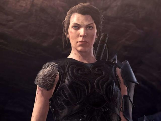 Monster Hunter World : Artemis, incarné par Milla Jovovich au cinéma, arrive dans le jeu