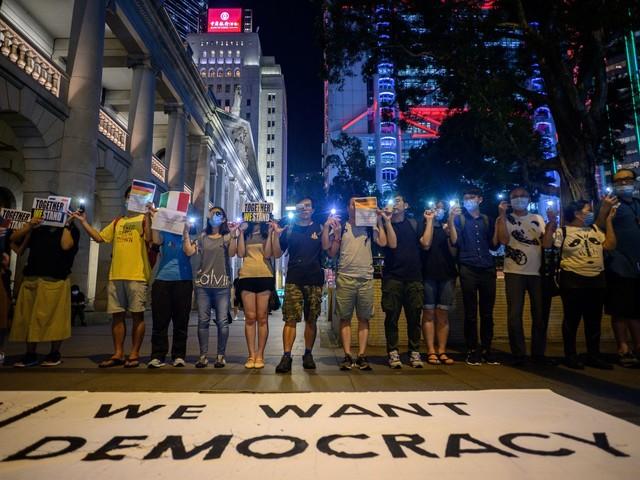 Cent jours de mobilisation et une créativité intacte à Hong Kong