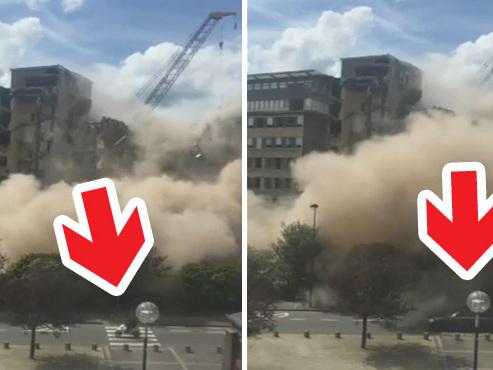 Effondrement de l'hôpital civil de Charleroi filmé en direct (vidéo): mais pourquoi le trafic n'a pas été arrêté?