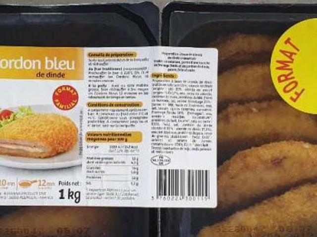 Alerte aux salmonelles : des cordons-bleus de dinde rappelés
