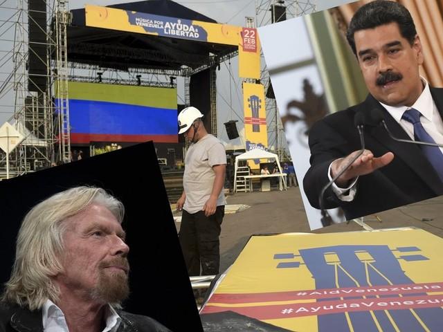 Au Venezuela, pro-Guaido et pro-Maduro s'affrontent par concerts interposés