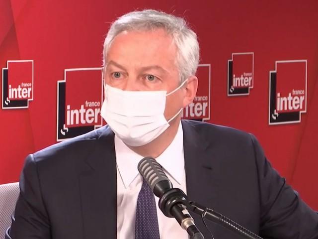 """VIDEO. Covid-19 : """"Rouvrir les stations de ski nous fait courir un risque sanitaire important"""", assure Bruno Le Maire"""
