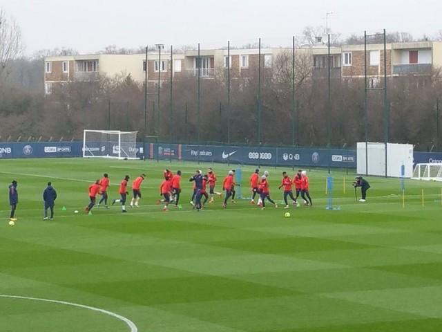Reims/PSG – Suivez le début de l'entraînement des Parisiens ce jeudi à 16h
