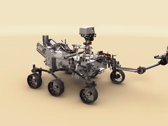 Écoutez le son du rover Perseverance dans son voyage vers Mars