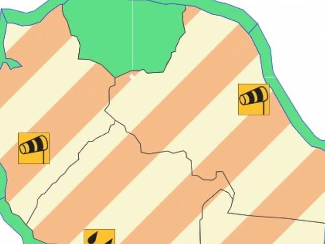 Vigilances forts vents dans l'Ouest, l'Est, le Sud-Est et fortes pluies dans le Sud