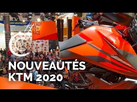 Nouveautés motos KTM 2020