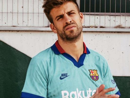FC Barcelone – Le maillot third turquoise est sorti [OFFICIEL]