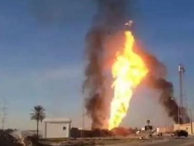 Gabes: Explosion émane d'une fuite de pétrole d'un oléoduc