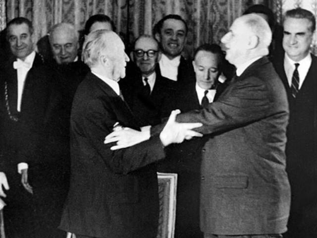 La France et l'Allemagne célèbrent le 55e anniversaire du traité de l'Elysée