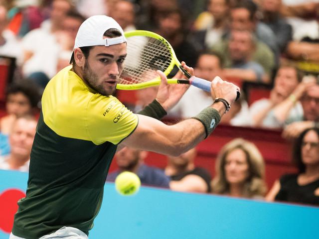 Classement ATP: Berrettini dans le Top 10