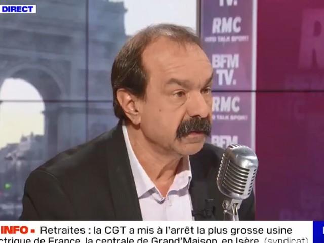 """Retraites: les coupures d'électricité vont """"s'amplifier"""", menace Martinez"""