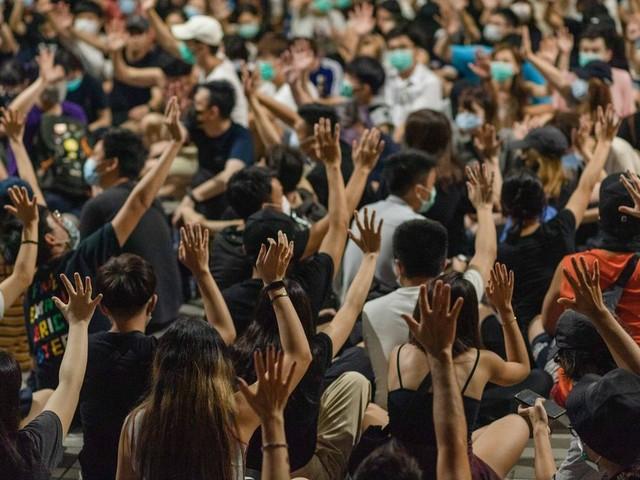 Contestation à Hong Kong: le territoire sur la voie de la récession ?