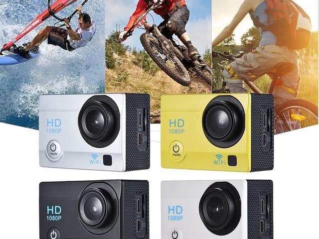 Camera sport Action FHD avec écran LCD 2″ en promo à 13.75€, c'est fou !