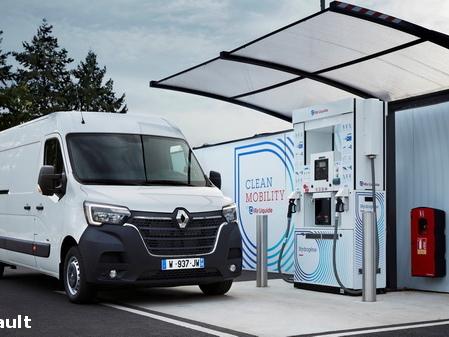 Renault va lancer deux véhicules utilitaires hydrogène