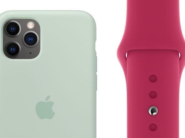 De nouveaux coloris pour les bracelets et étuis d'Apple