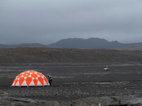 La Nasa se prépare pour Mars dans un champ de lave en Islande