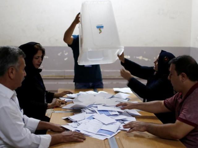 Forte participation au référendum du Kurdistan irakien