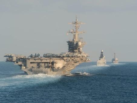 Face à l'Iran, les Etats-Unis montrent les muscles pour rassurer les alliés du Golfe