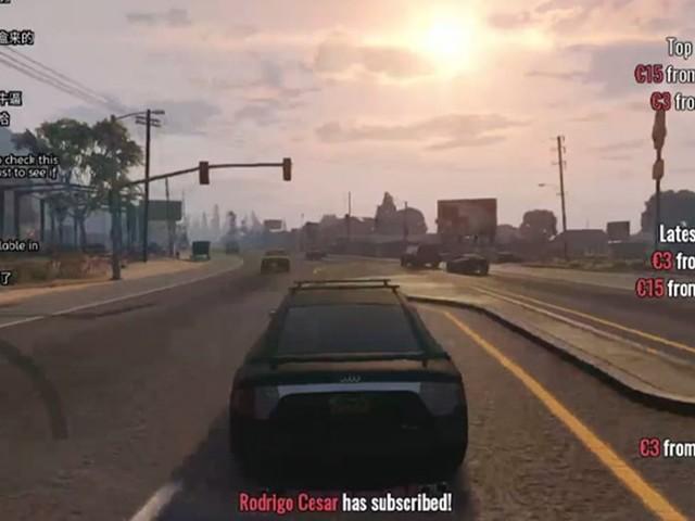 GTA 6 : un youtubeur décide de conduire dans GTA 5 en live 24h/24 jusqu'à sa sortie du jeu