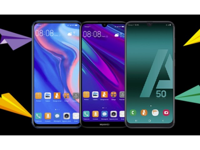 Smartphones pas chers : ne ratez pas les promos SOSH ou Orange sur trois modèles Huawei et le Galaxy A50